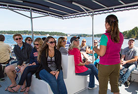 Crew and passengers, San Juan Safaris