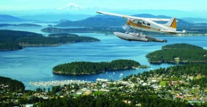 seaplane from lake union to san juan island for whale watching day trip