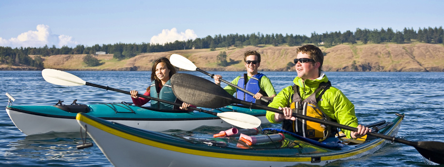 Sea kayaking in the San Juan Islands with San Juan Safaris
