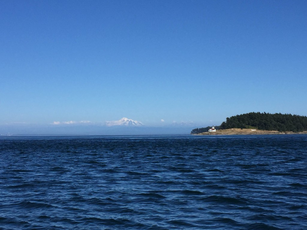 Mt. Baker and Patos Island Lighthouse