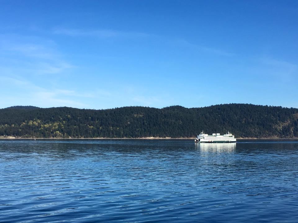 Washington State Ferry to Port Townsend