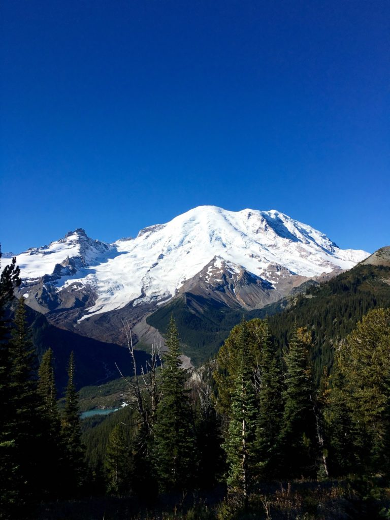 Mt. Rainier is a great family friendly adventure